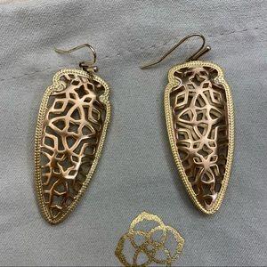 Kendra Scott Earrings   rose gold + gold
